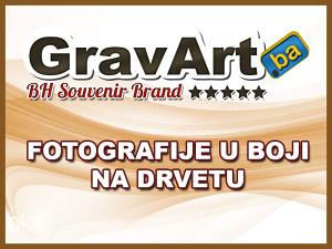Fotografije u boji na drvetu // GravArt