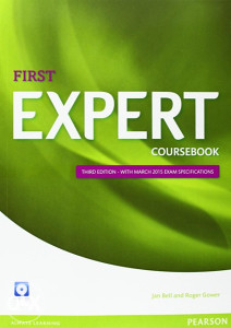 Knjiga: Expert First 3rd Edition Coursebook with CD Pack, pisac: Jan Bell, Roger Gower, Strani jezici, Udžbenici