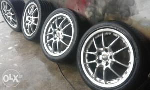 Alufelge 17 sa gumama aluminijske 5x112