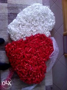 Srce svadbeno dekoracija