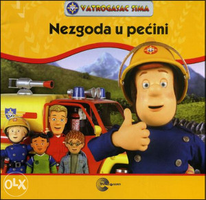 Knjiga: Vatrogasac Sima - Nezgoda u pećini, pisac: N/A, Dječije knjige, Slikovnice, Romani i priče, Do 10.00 KM