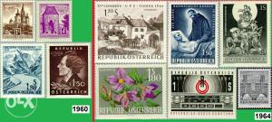 AUSTRIJA 1960/64 - Poštanske marke - 3006 - čiste