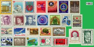 AUSTRIJA 1983 - Poštanske marke - 3007 - čiste