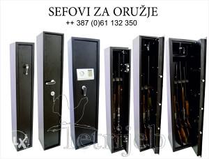 Sef za oružje za 3 i 5 pušaka