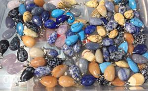 Kristali, poludragi kamen, nakit