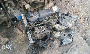 Motor od golfa 2 u dijelovima