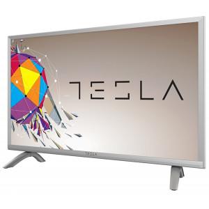 """Tesla 32"""" LED TV 32S356BH DVB-T2, DVB-S2 SILVER !!!"""