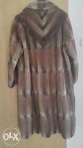 Krznena bunda od nerca