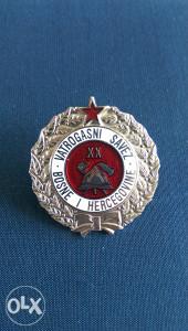 Medalja Vatrogasnog saveza BiH