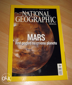 NATIONAL GEOGRAPHIC - MARS