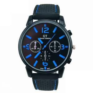 Muski sat GT plavi rucni sat