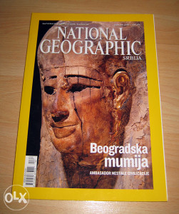 NATIONAL GEOGRAPHIC - Beogradska mumija