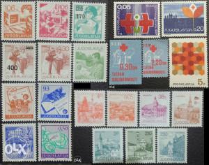 JUGOSLAVIJA - Poštanske marke - 2700 - ČISTE
