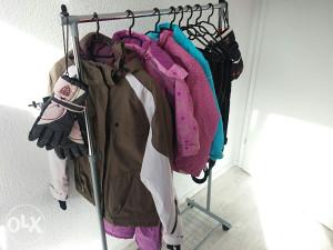 Ski oprema (jakne,pantalone,rukavice)
