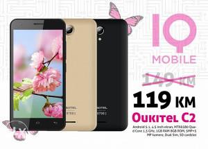 Oukitel C2 - 4,5 inch | 1+8GB | 5Mpx | Dual SIM