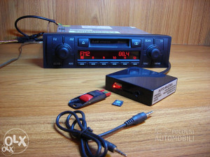 Novo Emulator changer/interface usb sd aux mp3