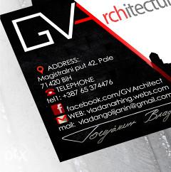 projektovanje  arhitektura _ dizajn _ enterijer _ grafički dizajn _ 3d vizualizacija_ namještaj po mjeri