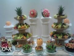 Povoljno radim dekoracije na vocu i povrcu za razne prilike tipa rodjendana, svadbi, i raznih proslava