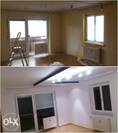 Radimo svu unutrasnjost stambenog objekta osim vode i instalacije do kljuc u ruke