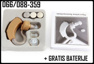 Slušni aparat - super uho 3 kom baterija 066-088-359