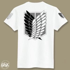 Anime/Manga Attack on Titan majice + besplatan lančić