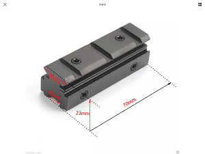Sina -nosac optike 10mm-20mm universal