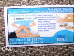 Masaža i rehabilitacija u vašem domu