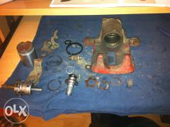 reparacija popravka restauracija  kocionih klijesta kljesta celjusti starijih VW vozila