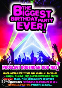 PROSLAVA ROĐENDANA, najbolji party u gradu !!!