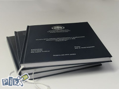 Tvrdi uvez - Diplomski, magistarski, doktorat, seminarski