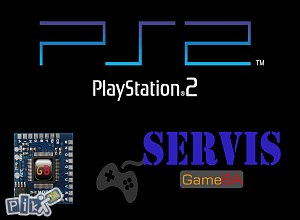Servis i čipovanje PS2 konzola
