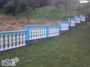 betonska korita, kamini,ograde,stolovi, stubovi ....