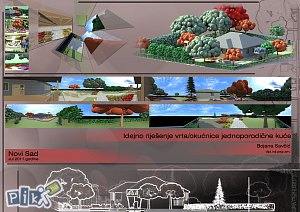 Uredjenje dvorista i zelenih povrsina - Pejzazni arhitekta/Landscape architect/Landschaftsarchitekt