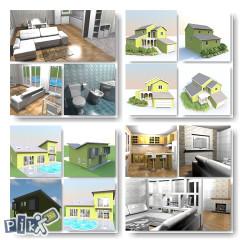 Izrada građevinskih projekata.