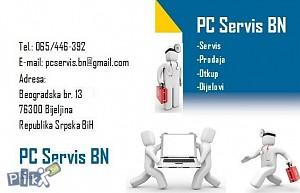 Servis desktop i laptop računara