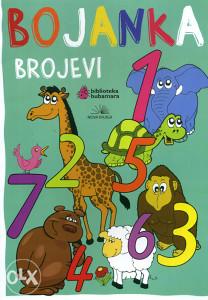 Knjiga: Brojevi - Bojanka, pisac: Grupa autora, Dječije knjige, Bojanke, Do 10.00 KM
