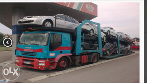 Iveco Stralis 400 autotransporter