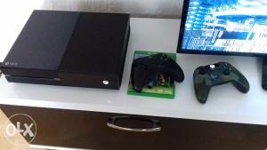 XBOX ONE+4 Igre