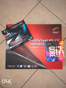 I7 7700K   ASUS  MAXIMUS IX HERO   16GB DDR4 3000MHz