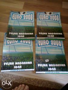 Albumi Euro 2008 POPUNJENI cijena za 1 komad