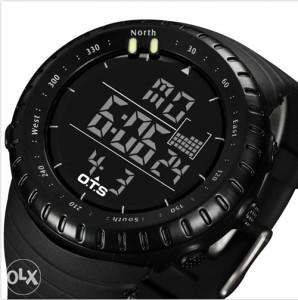 Taktički sat digitalni OTS Hunter T7005G - Vodootporan