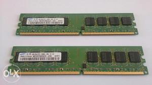 RAM DDR2 667mhz 2x1GB