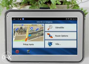 GPS NAvigacija 7 inča, Prevedena, RADARI !!!