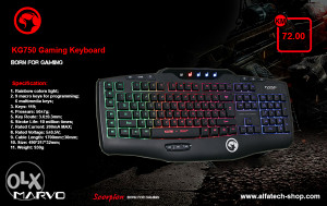 Tastatura MARVO KG750 Gaming