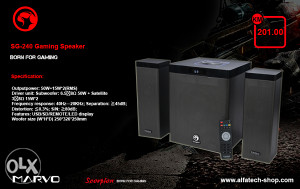 Zvucnici MARVO SG-240 Gaming