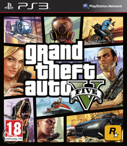 GTA V Grand Theft Auto 5 (PlayStation 3 - PS3)