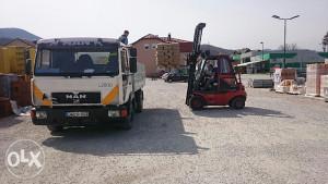 Kamion prevoz,prevoz kamionom, usluge prevoza