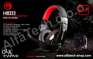 Slušalice MARVO Gaming H8333BK RD Wired