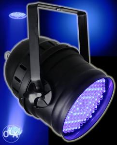 LED PAR 64 DMX  IBIZA LP64LED-PROMO 36x1W