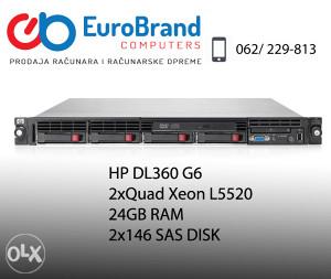 Server HP Proliant DL360 G6, 2xquad, 24 GB RAM